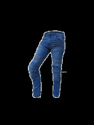 HERO TECNICI motoristične jeans hlače - modre