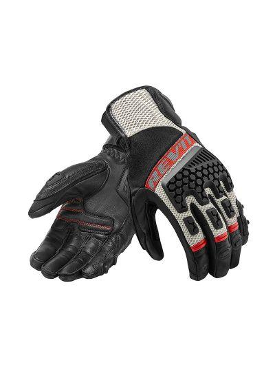 REV'IT SAND 3 motoristične rokavice - črne / rdeče