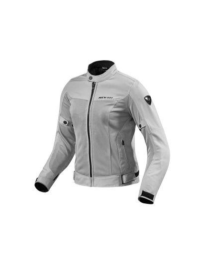 REV'IT ECLIPSE Lady srebrna ženska tekstilna motoristična jakna