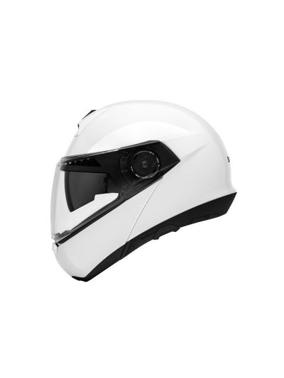 SCHUBERTH C4 WHITE GLOSY Motoristična preklopna čelada / bela