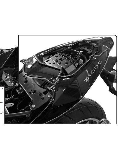 GIVI T265KIT kit za namestitev nosilca stranskih torb TE265 brez nosilca zadnjega kovčka za Kawasaki Z750 (2007 - 2014)