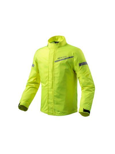 REV'IT CYCLONE 2 H2O dežna motoristična jakna - neon rumena