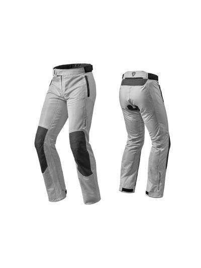 REV'IT AIRWAVE 2 - Tekstilne motoristične hlače - srebrne