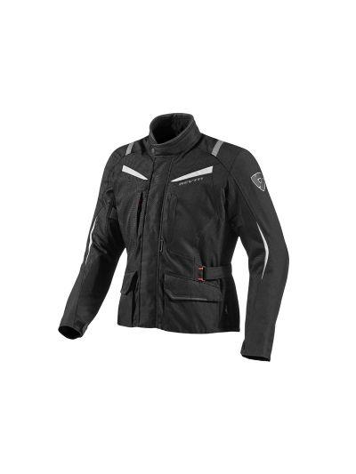 REV'IT VOLTIAC črno/srebrna tekstilna motoristična jakna