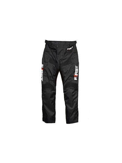 Motoristične tekstilne hlače FIRST STORM črne