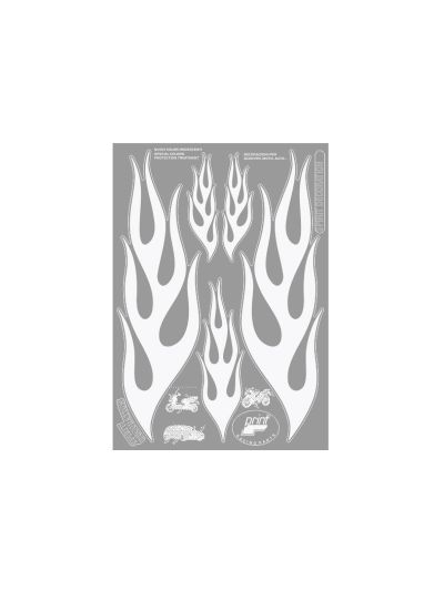 Nalepka OneDesign Flames