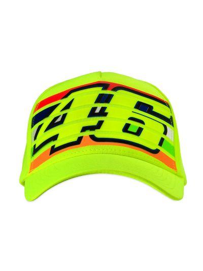 Kapa s šiltom VR46 Classic - fluo rumena