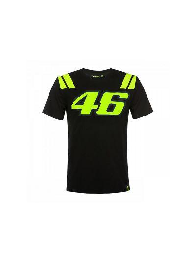 Majica s kratkimi rokavi 46 VR46 - črna