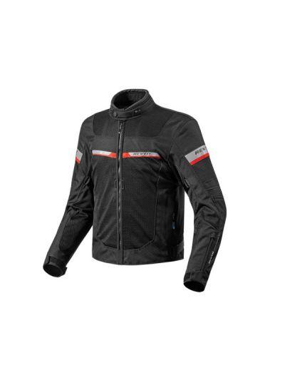 REV'IT TORNADO 2 črna motoristična tekstilna jakna