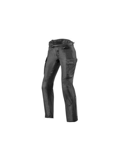 REV'IT OUTBACK 3 LADIES Ženske tekstilne motoristične hlače - podaljšane - črne