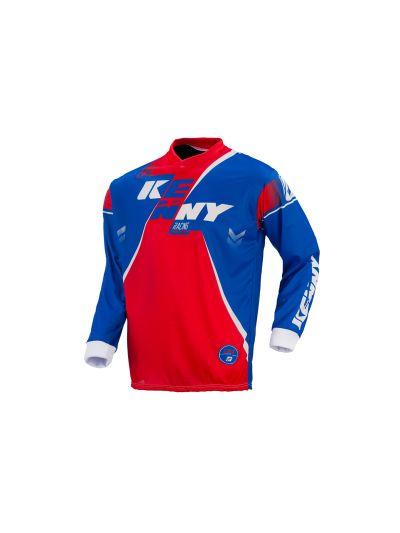 Kenny Racing TRACK motoristična motocross majica (Velikost M) - rdeča / modra