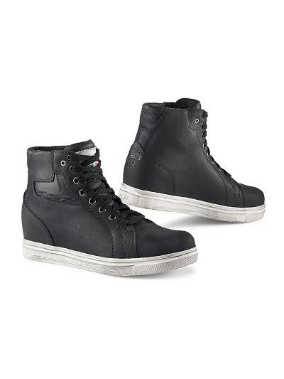 TCX STREET ACE WP Lady ženski motoristični čevlji - črni