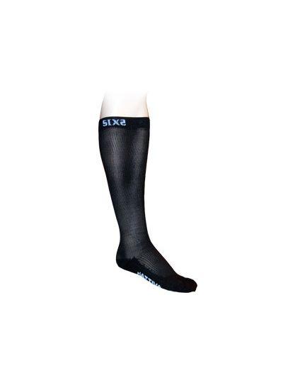 Kompresijske nogavice SIXS COMP RI črne
