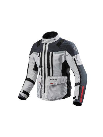REV'IT SAND 3 tekstilna motoristična jakna - srebrna / antracit
