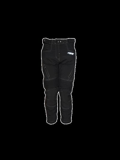 ATROX Soft-Shell ženske tekstilne motoristične hlače - črne-2