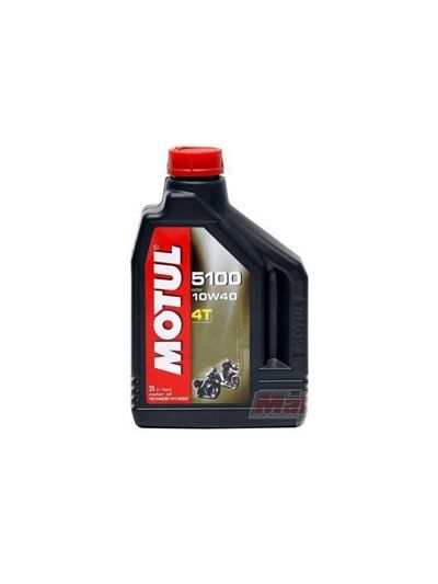 MOTUL 5100 ESTER 4T 10W40 2L olje za motorna kolesa