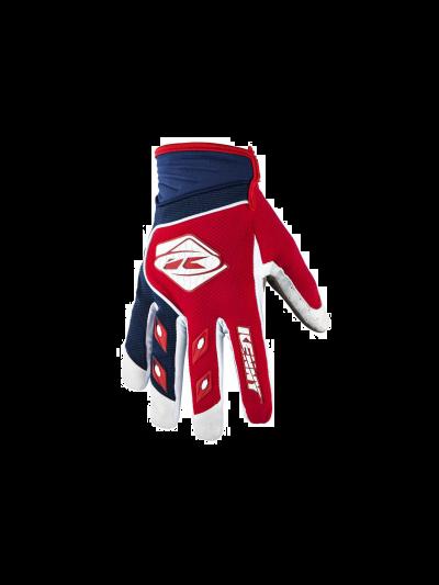 Kros rokavice Kenny Racing TRACK rdeča/modra navy