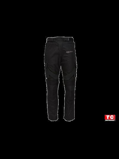 HERO RIDER GT - Tekstilne hlače - črne
