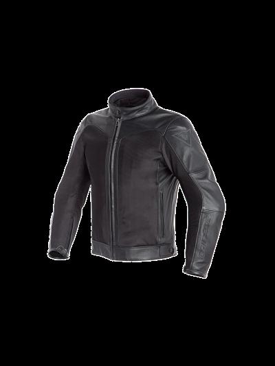DAINESE CORBIN D-DRY usnjena motoristična jakna - črna