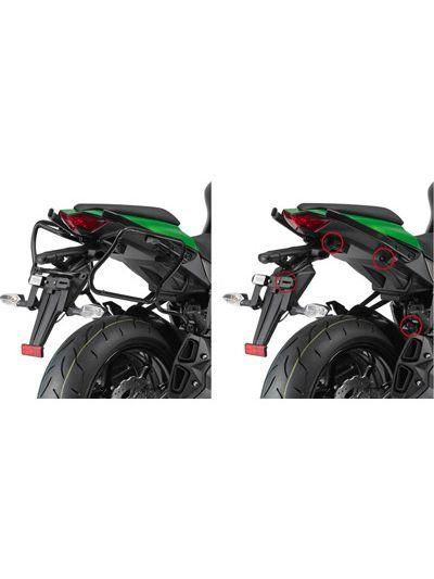 GIVI 4100KIT set za pritrditev stranskih nosilcev brez nosilcev zadnjega kovčka za Kawasaki Z 1000 SX (2011 - 2019)