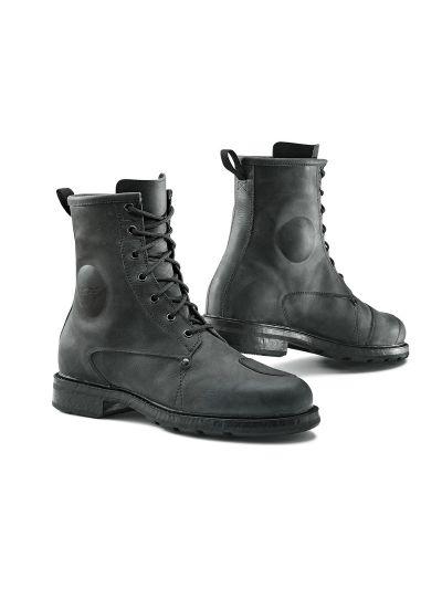 TCX X-Blend WP vodoodporni črni motoristični škornji