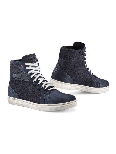 TCX STREET ACE DENIM motorističi čevlji - modri