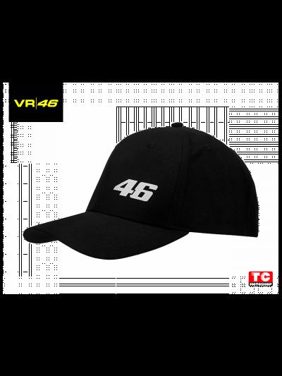 CORE VR | 46 - Športna kapica - črna