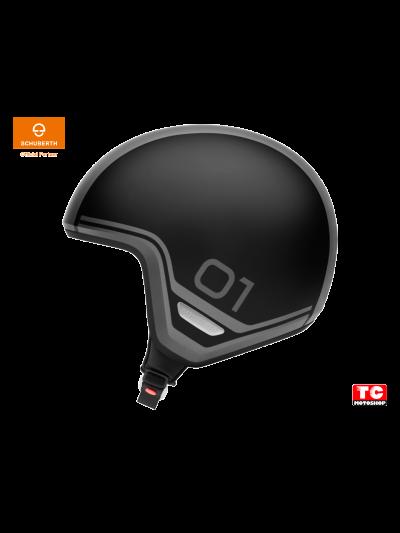 SCHUBERTH O1 ERA jet motoristična čelada - era črna | Velikost L