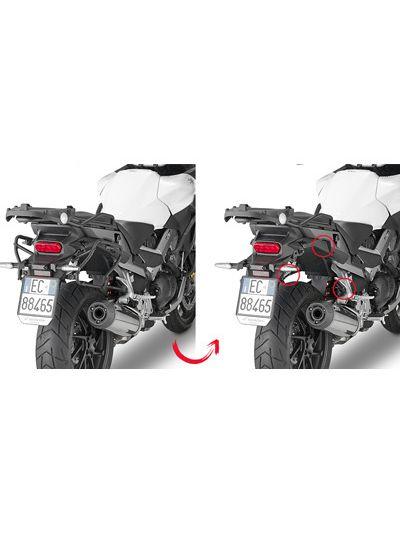 GIVI PLXR1139 hitro snemljivi nosilci stranskih kovčkov za Honda Crossrunner 800 (2015 - 2019)