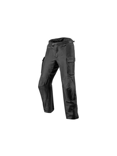 REV'IT OUTBACK 3 Tekstilne motoristične hlače - črne