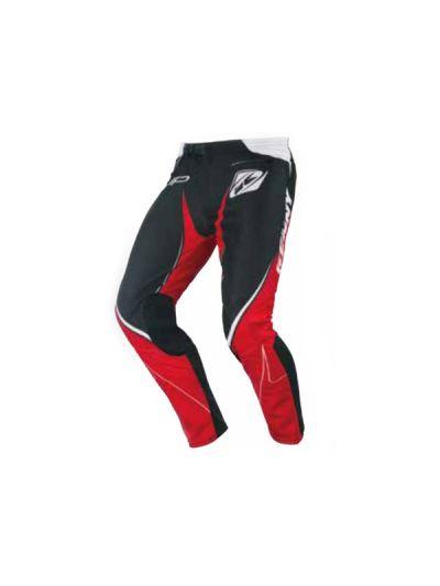 Kenny Racing TRIAL UP motoristične motocross hlače - črne / rdeče
