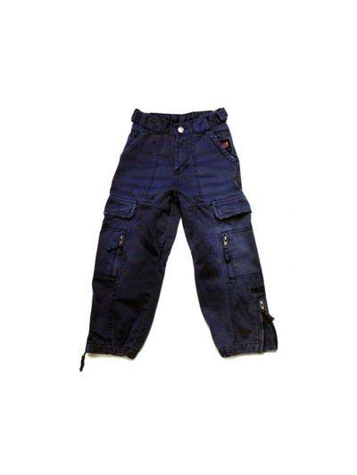 Otroške tkane bombažne hlače - velikost 8 - zadnji kos