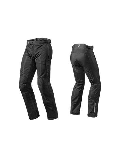 REV'IT AIRWAVE 2 - Tekstilne motoristične hlače - črne