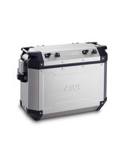 GIVI TREKKER OUTBACK 37 stranski kovček - levi | aluminij