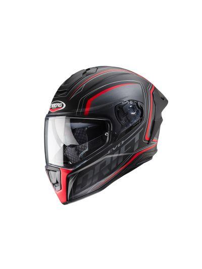 CABERG DRIFT EVO INTEGRA Integralna motoristična čelada - mat črna / antracit / rdeča