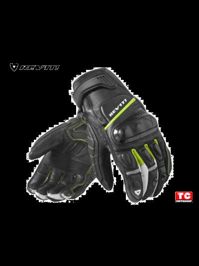 CHICANE REV'IT motoristične rokavice - črno/neon rumene