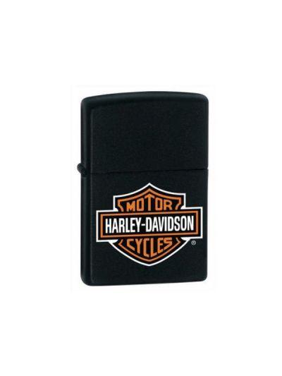 ZIPPO vžigalnik Harley Davidson - črn