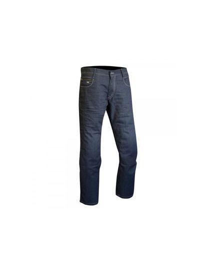 Moške moto jeans hlače HUDSON Street - svetlo sive