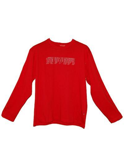 Ferrari rdeča majica z dolgimi rokavi  - velikost M