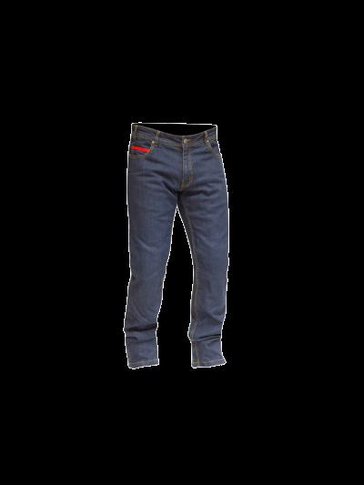 MERLIN Blake Stretch moške motoristične jeans hlače - modre