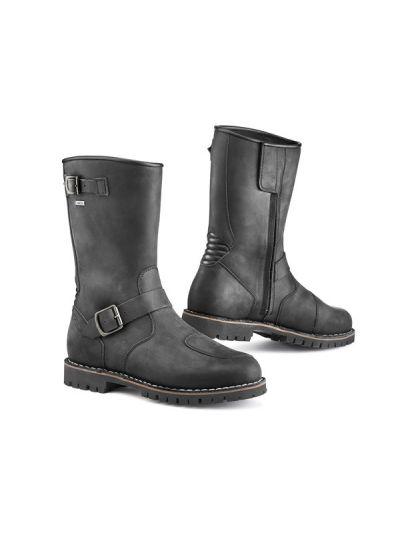 TCX FUEL GTX črni motoristični škornji