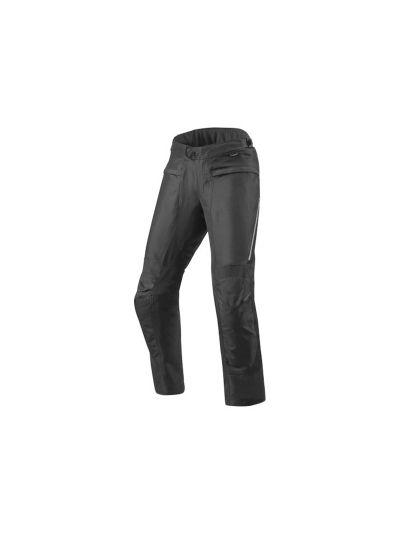 REV'IT FACTOR 4 Tekstilne motoristične hlače - ekstra dolge - črne