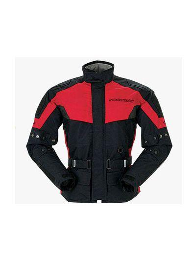 Motoristična tekstilna jakna RS Taichi DryMaster-X Half črno-rdeča
