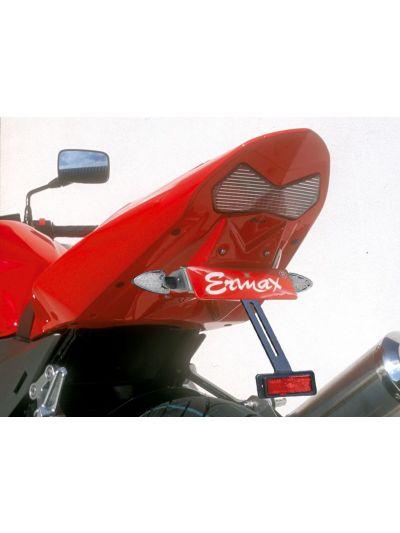 ERMAX Nosilec tablice za Kawasaki Z750 (2004 - 2006) - črn