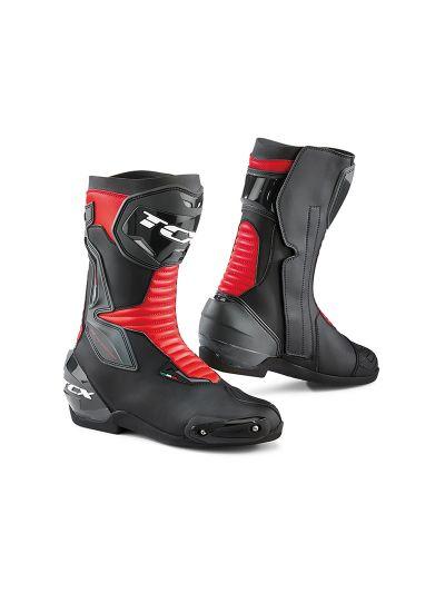 TCX SP-MASTER motoristični škornji - črni / rdeči