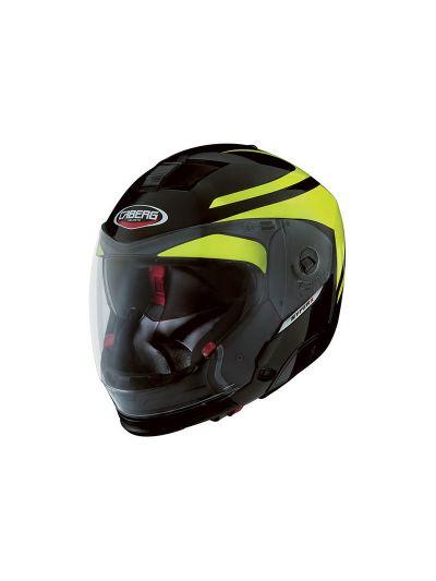 Motoristična preklopna čelada Caberg HyperX Duale Hi Vizion TG - velikost XL