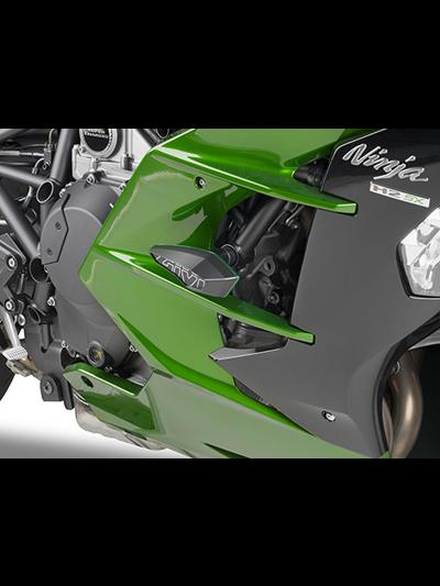 GIVI SLD4123KIT kit za namestitev drsnikov SLD01 za Kawasaki H2 SX (2018 - )