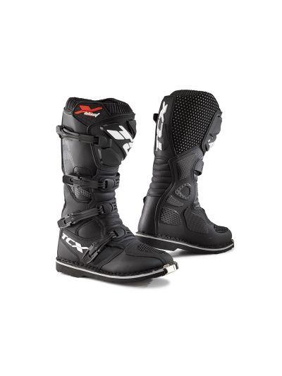Motoristični škornji TCX X-BLAST črni