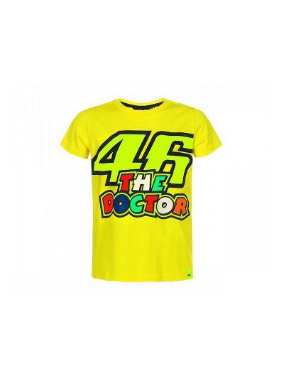 Otroška majica 46 The Doctor VR 46 - rumena