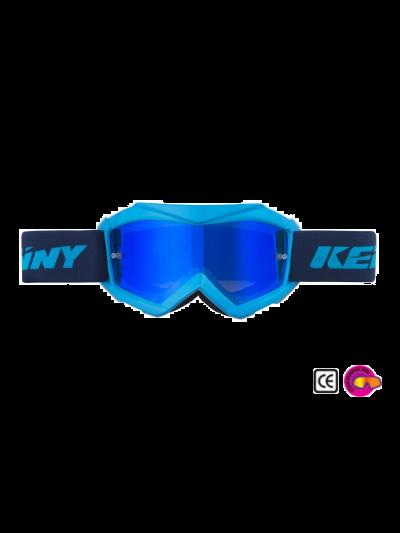 Otroška kros očala Kenny Racing TRACK KID cyan/modra